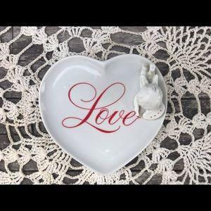 Avon Cupid Love Trinket Plate